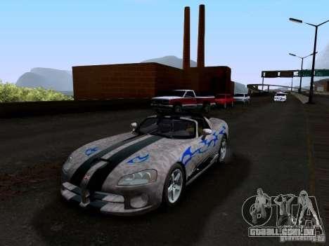 Dodge Viper SRT-10 Custom para o motor de GTA San Andreas