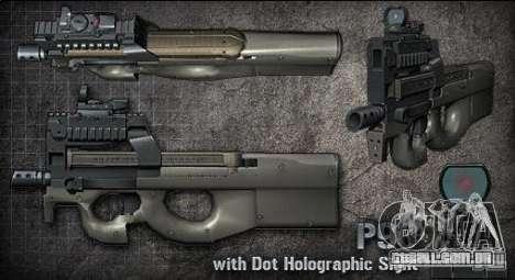 [Point Blank] P90 para GTA San Andreas