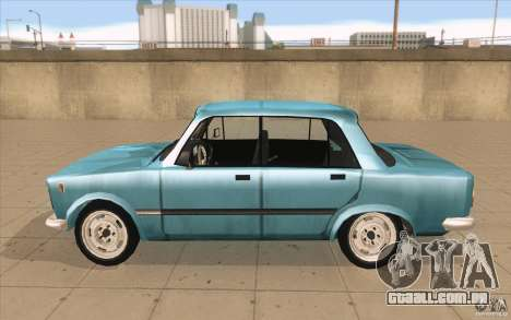 Fiat 125p para GTA San Andreas esquerda vista