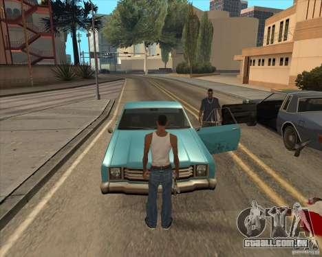 Drivers de saiam do carro para GTA San Andreas segunda tela