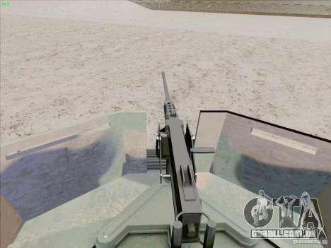 Hummer H1 para GTA San Andreas vista superior