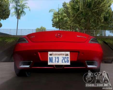 Mercedes-Benz SLS AMG V12 TT Black Revel para GTA San Andreas vista direita