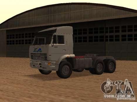 KAMAZ 6460 para GTA San Andreas esquerda vista