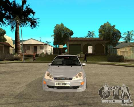 Ford Focus Sedan para GTA San Andreas vista traseira