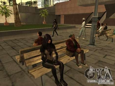 Girls from ME 3 para GTA San Andreas quinto tela