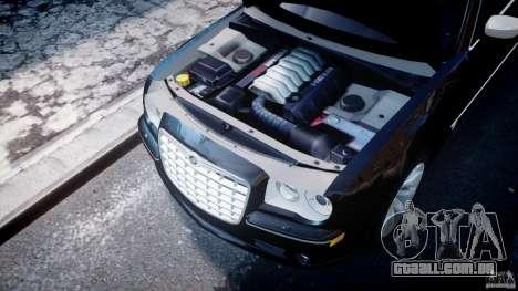 Chrysler 300C SRT8 Tuning para GTA 4 vista de volta