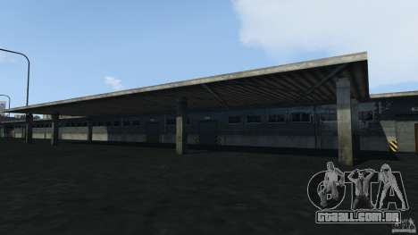 Tokyo Docks Drift para GTA 4 nono tela