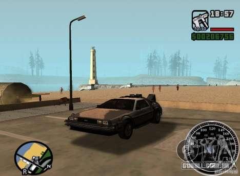Crysis Delorean BTTF1 para GTA San Andreas