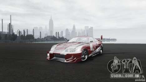 Toyota Supra Apexi Race System para GTA 4