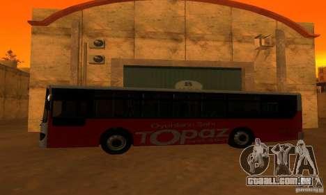 Daewoo Bus BC211MA para GTA San Andreas esquerda vista
