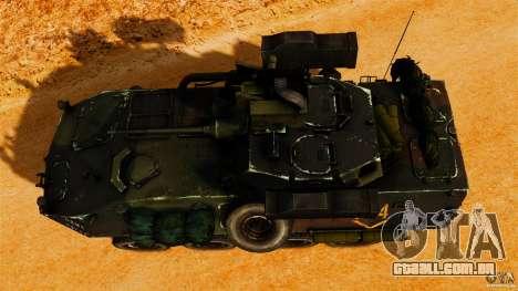 LAV-25 IFV para GTA 4 vista direita
