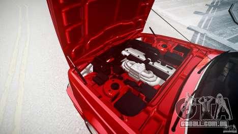 BMW M6 v1 1985 para GTA 4 vista superior