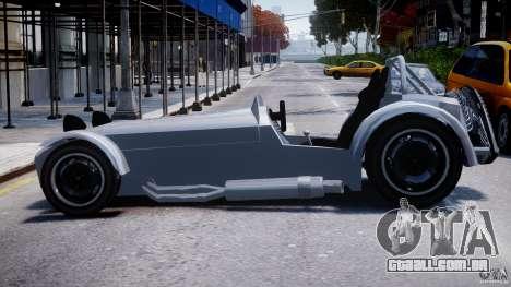 Caterham Super Seven para GTA 4 esquerda vista