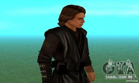 Anakin Skywalker para GTA San Andreas segunda tela