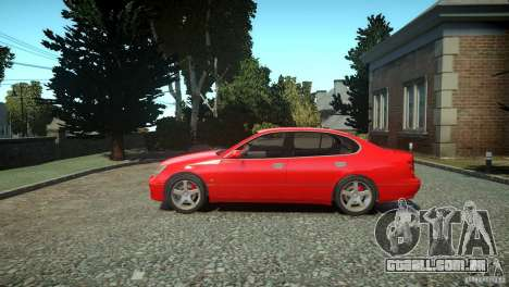 Toyota Aristo para GTA 4 esquerda vista