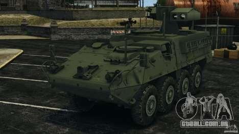 Stryker M1134 ATGM v1.0 para GTA 4
