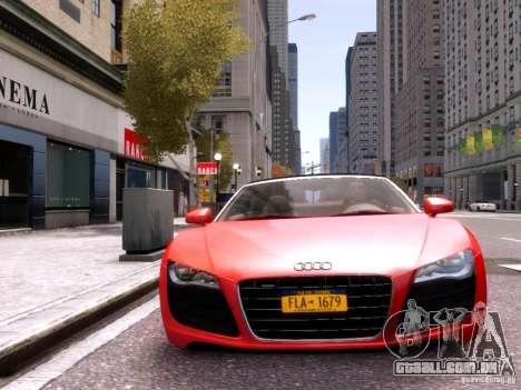 Audi R8 Spyder 5.2 FSI quattro V4 EPM para GTA 4 vista superior