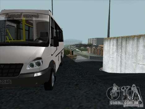 3207 Golaz para vista lateral GTA San Andreas