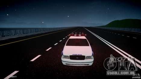 Ford Crown Victoria NYPD para GTA 4