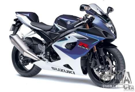 Suzuki GSX-R 1000 para GTA Vice City vista direita