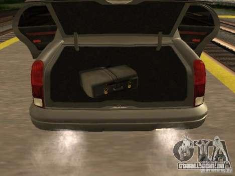 HD Stretch para GTA San Andreas vista traseira