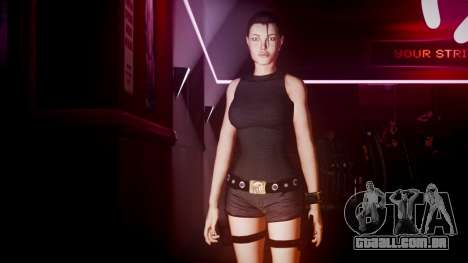 Angelina Jolie (Tomb Raider) para GTA 4 quinto tela
