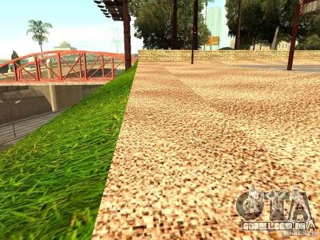 A nova quadra de basquete em Los Santos para GTA San Andreas segunda tela
