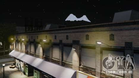 Luzes de luz amarelas para GTA 4 sexto tela