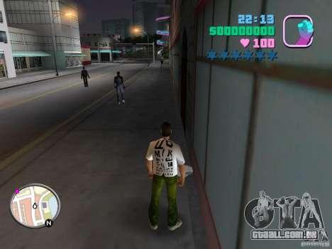 Novas skins Pak para GTA Vice City quinto tela