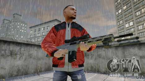RSASS de MW3 (sniper) para GTA 4 segundo screenshot