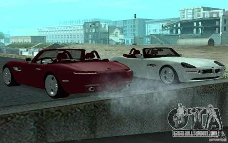 BMW Z8 para GTA San Andreas vista direita
