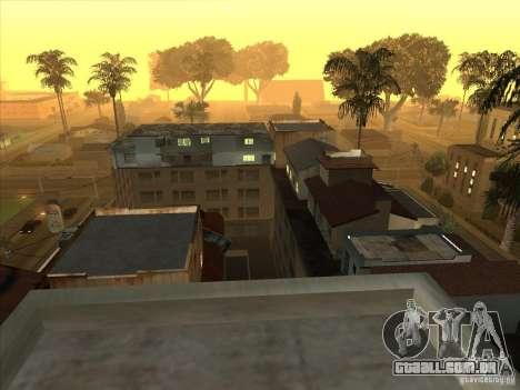 Mapa de Parkour e bmx para GTA San Andreas segunda tela