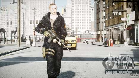 Jake Mueller para GTA 4 quinto tela
