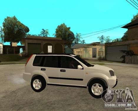 NISSAN X-TRAIL 2001 para GTA San Andreas vista direita