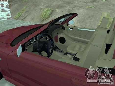 Spyder Cambriocorsa para GTA San Andreas esquerda vista