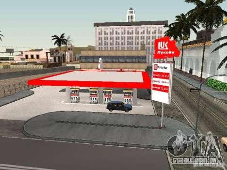 Posto de gasolina Lukoil para GTA San Andreas