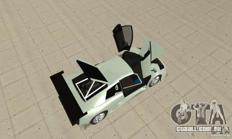 Lamborghini Murcielago R GT para GTA San Andreas vista traseira