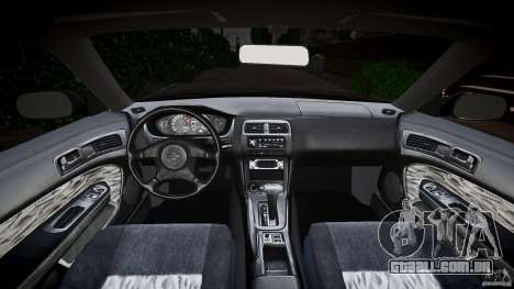 Nissan 200SX para GTA 4 vista de volta