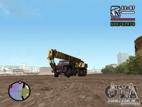 KrAZ-250 MKAT-40 para GTA San Andreas