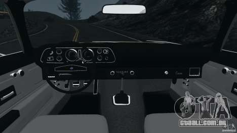 Chevrolet Camaro 1970 v1.0 para GTA 4 vista de volta