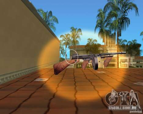 Thompson Model 1928 para GTA Vice City sexta tela