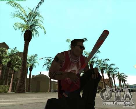 Blood Weapons Pack para GTA San Andreas por diante tela