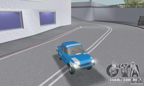 ZAZ 968M esfarrapado para GTA San Andreas interior