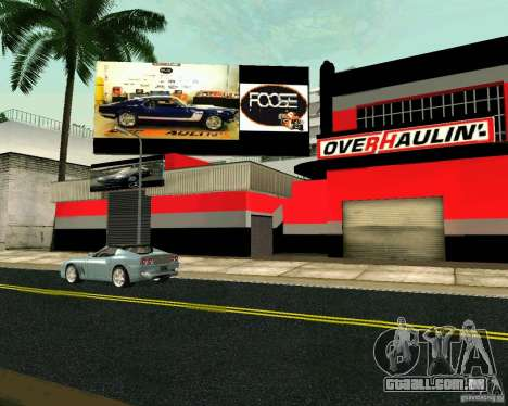 Workshop OVERHAULIN para GTA San Andreas terceira tela