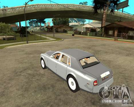 Rolls-Royce Phantom (2003) para GTA San Andreas esquerda vista