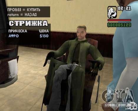 Roupas de um stalker para GTA San Andreas nono tela
