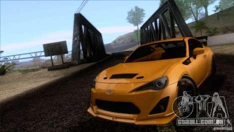 Scion FR-S 2013 para GTA San Andreas vista traseira