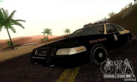 Ford Crown Victoria Florida Police para GTA San Andreas