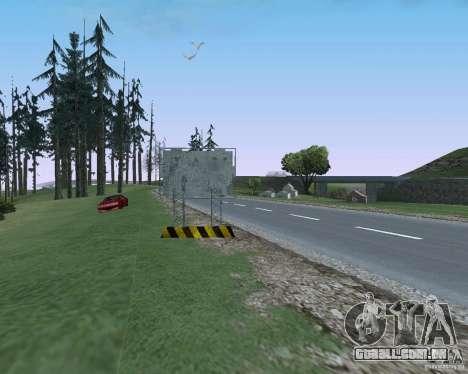 Estrada sinais v 1.1 para GTA San Andreas sétima tela