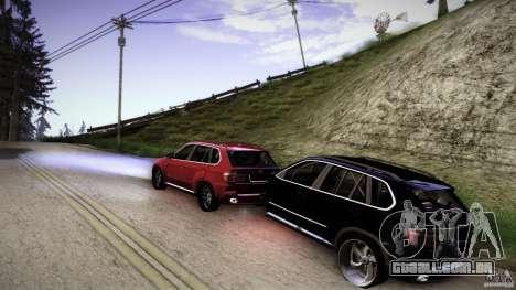 BEAM X5 Trailer para GTA San Andreas esquerda vista